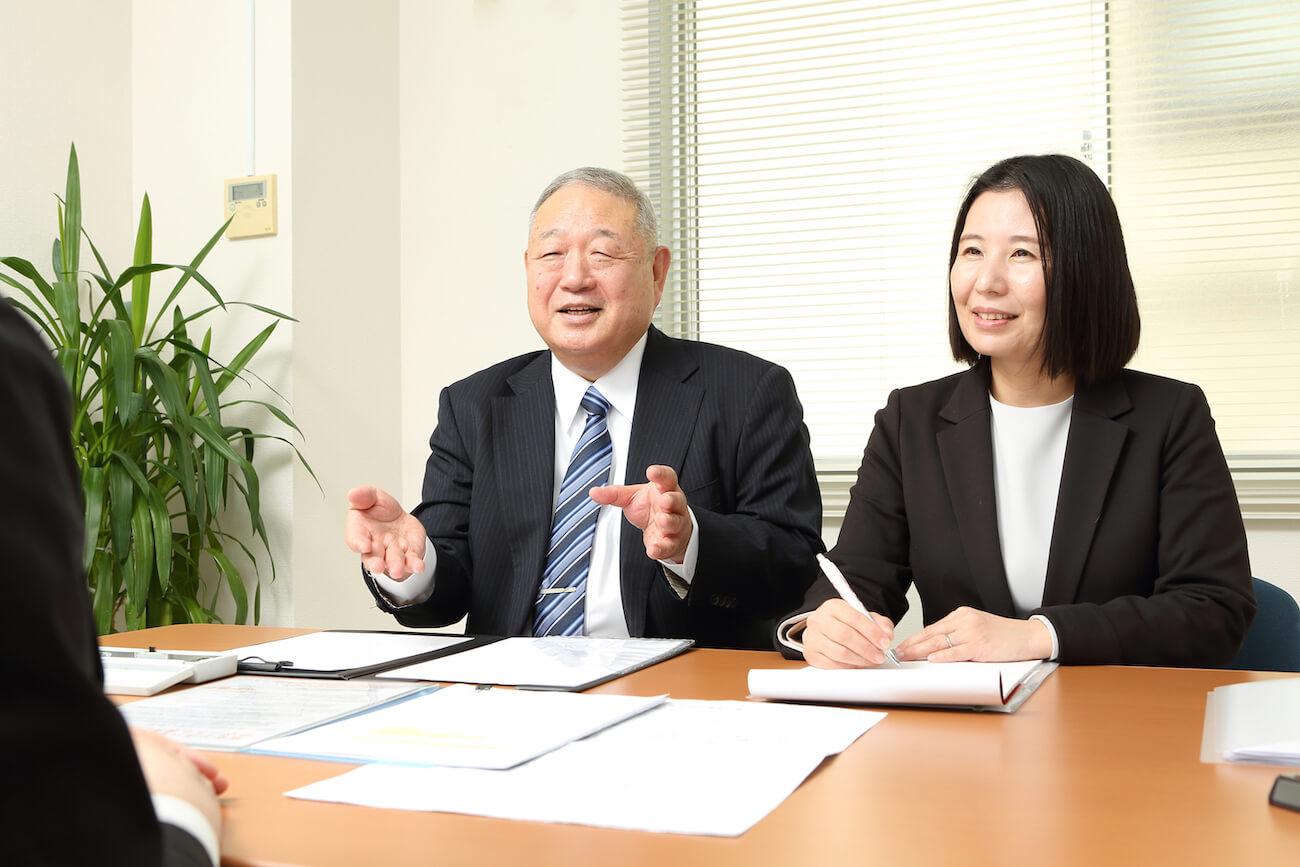 田村社会保険労務士事務所(埼玉障害年金相談センター)の面談風景